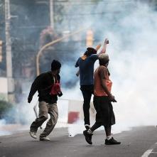 Juventud hondureña contra el golpe de estado 2009